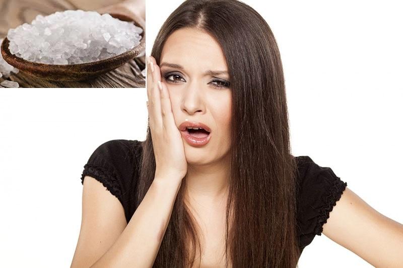 Muối có tính sát khuẩn, kháng viêm mạnh nên bạn hoàn toàn có thể áp dụng nguyên liệu này để giảm đau răng